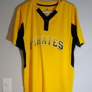 Majestic Pittsburgh Pirates Jersey Shirt A+